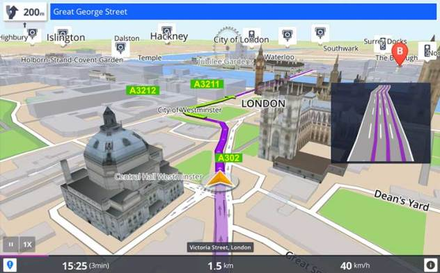 GPS Sygic sur Android