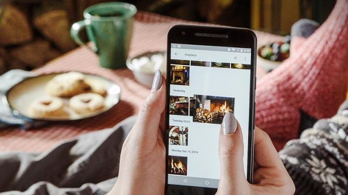 Mise à jour interface Google Photos