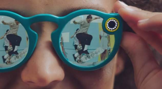 snapchat spectacles lunettes connectees