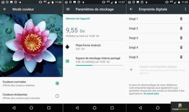 test moto g5 android