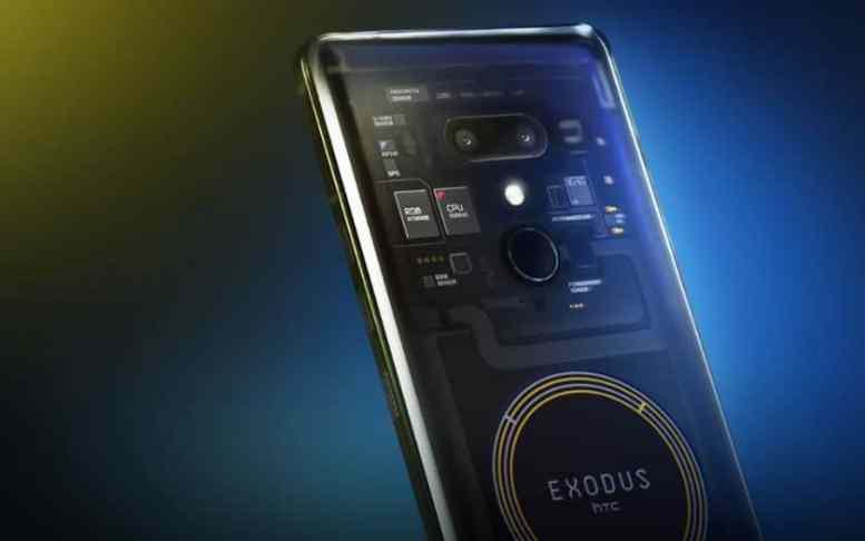htc exodus 1 officiel premier smartphone blockchain disponible au prix de 830 euros. Black Bedroom Furniture Sets. Home Design Ideas
