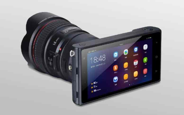 Yongnuo appareil photo android objectif canon