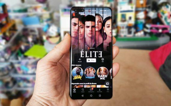 Huawei P40 Pro Netflix