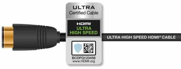 Cable HDMI UltraHighSpeed