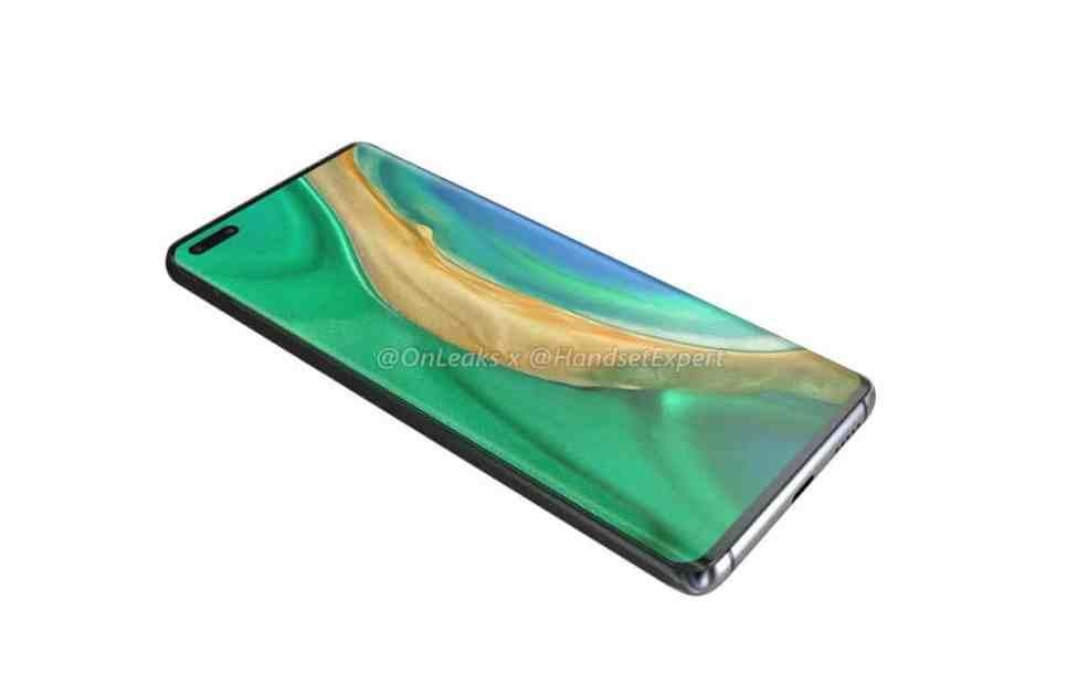 Huawei Mate 40 avant