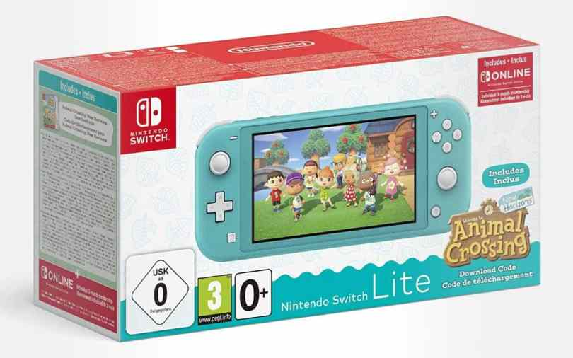 pack Nintendo Switch Lite pas cher