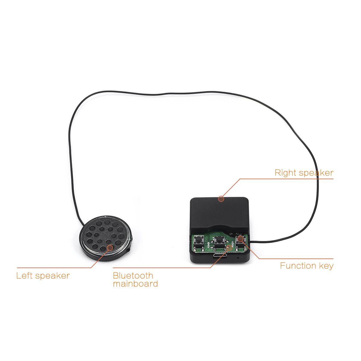 Warm Soft Beanie Hat Bluetooth Smart Cap Wireless Headset Headphone Speaker Mic