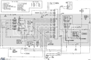 Ford escort rs turbo wiring diagram