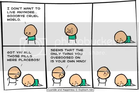 'Placebo' comic - Cyanide & Happiness