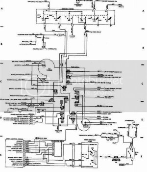 89 Xj ignition swith wiring diagram??push button start