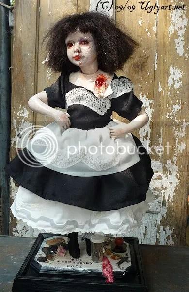 fine,art,uglyshyla,ugly art dolls,doll,dolls,gothic,horror,surreal