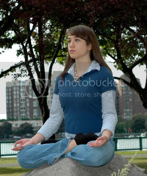 Picture of Padmasana Yoga Pose