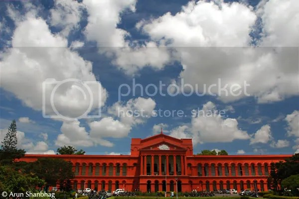 High court across the Vidhan Soudha pics during Bengaluru bangalore tour by Arun Shanbhag