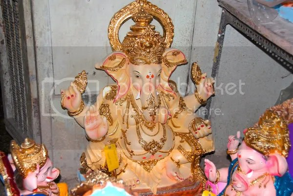 Picture photograph of Ganapati murthy, Ganesh utsav murthy during Ganesh Chaturthi by Arun Shanbhag