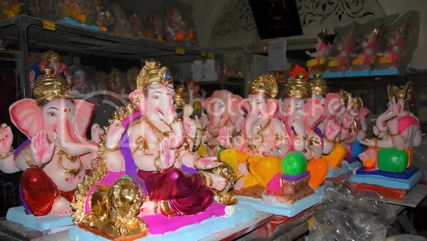 Picture photograph of Ganapati murthy, Ganesh utsav murthy during Ganesh Chaturthi by Arun Shanbhag