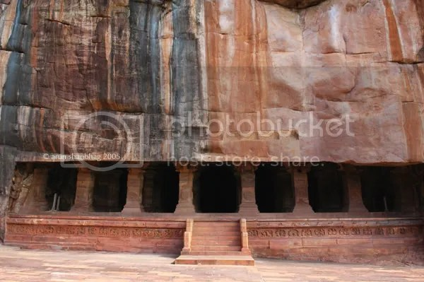 Cave 3 of the Cave Temples of Badami