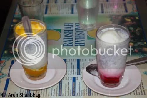 Falooda at Badshah Cold Drink, Mumbai Arun Shanbhag