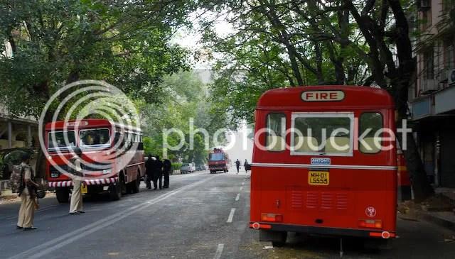 Street leading to the Taj