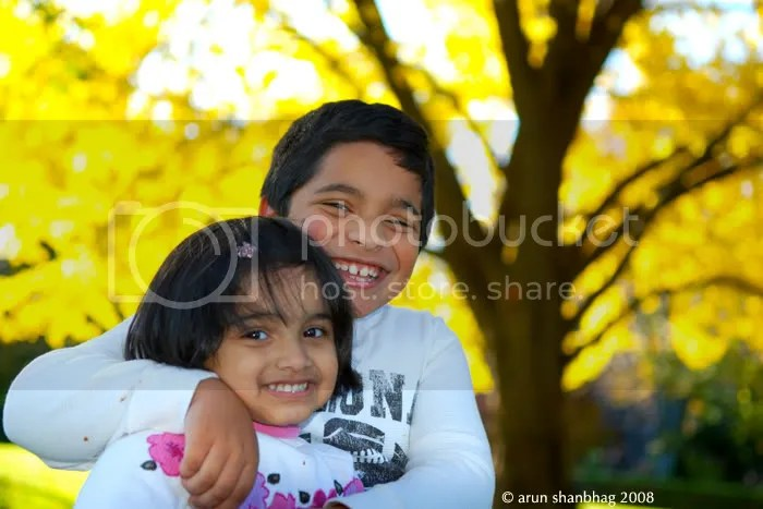 Suneel and Sahana in the Boston Public Garden