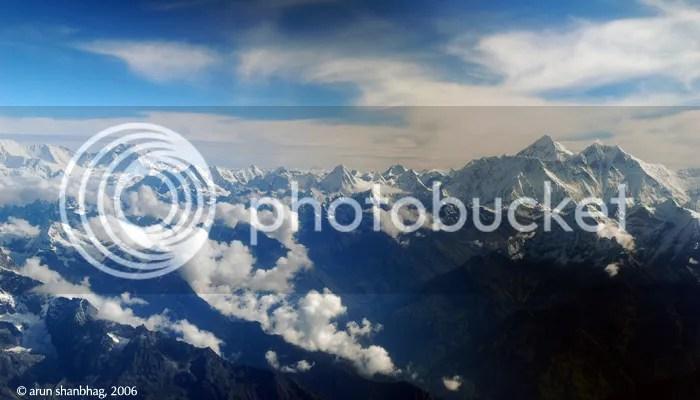 pics of Mount Everest Sagarmatha by Arun Shanbhag