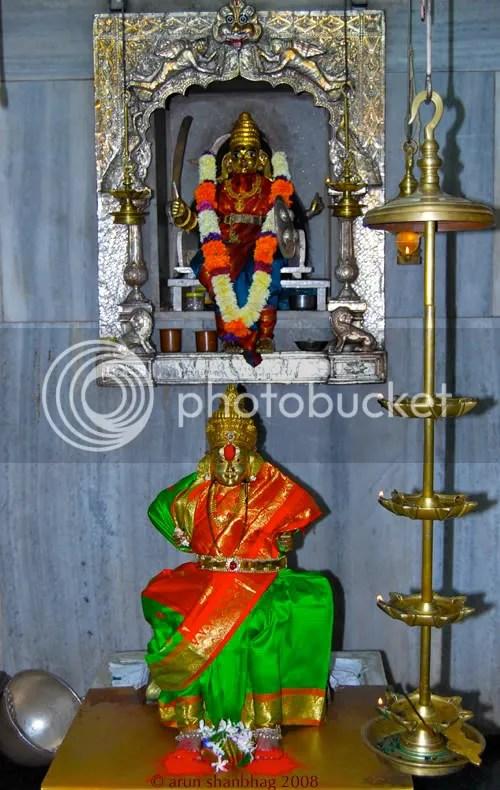 Kamakshi Devi at Ramnathi Temple Goa