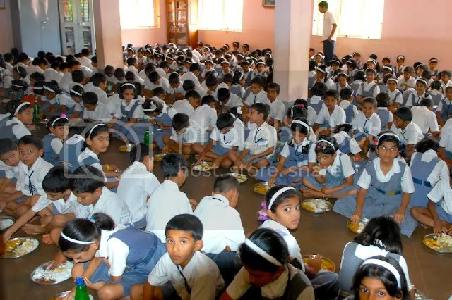 Shanbhag High School Lunch Kumta