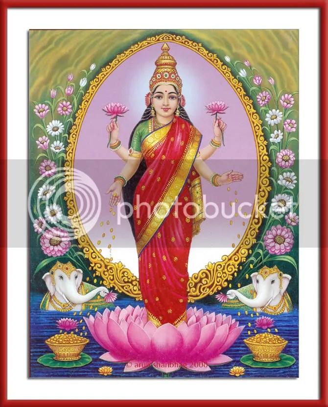 picture of Devi Lakshmi Mahalakshmi Diwali by Arun Shanbhag