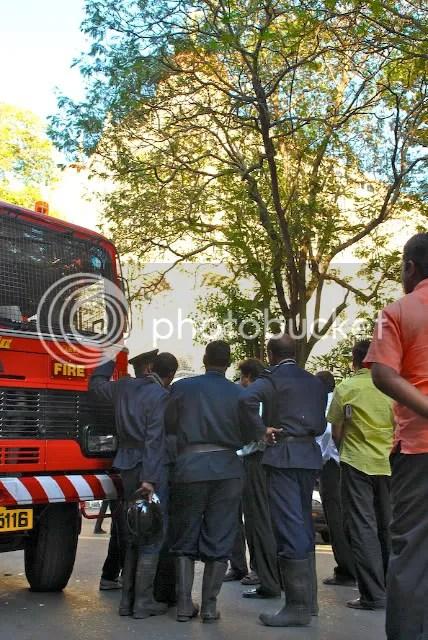Taj Hotel Burning Terror Nov 2008 firemen