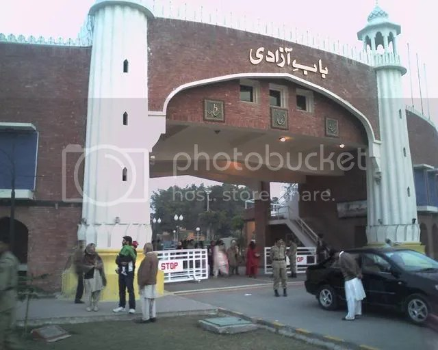 Ba'b-e-Aazadi - Wahga Border