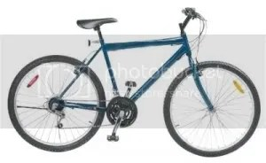 Approximately what the stolen bike looks like.