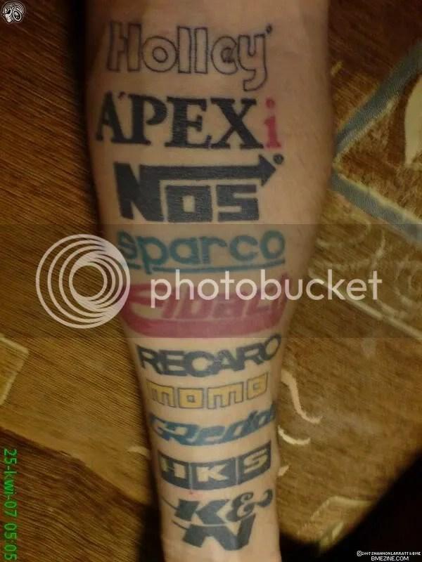 people get some dumb tattoos l f d
