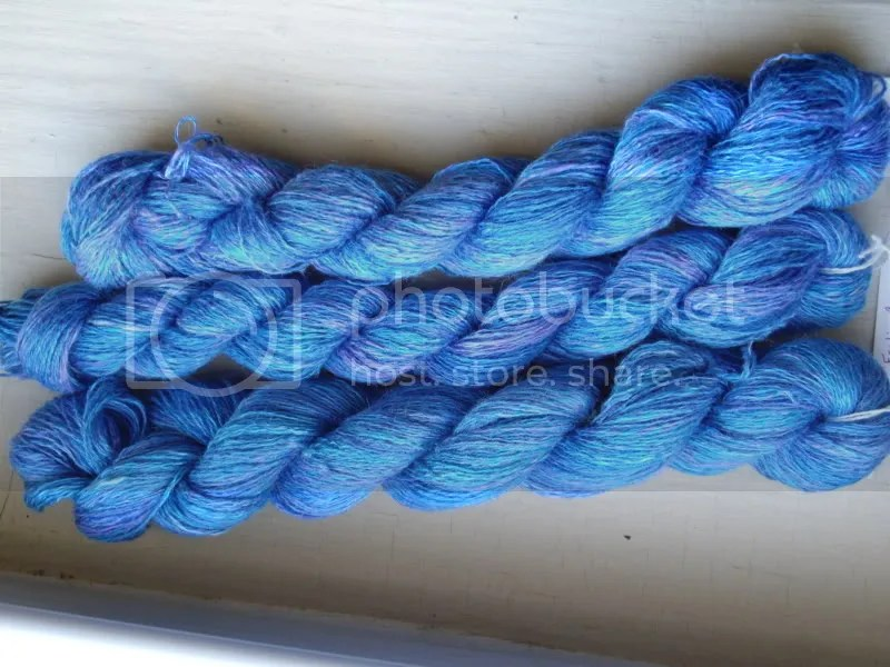 Three breezy skeins