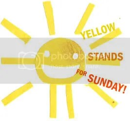 yellow stands for sunday