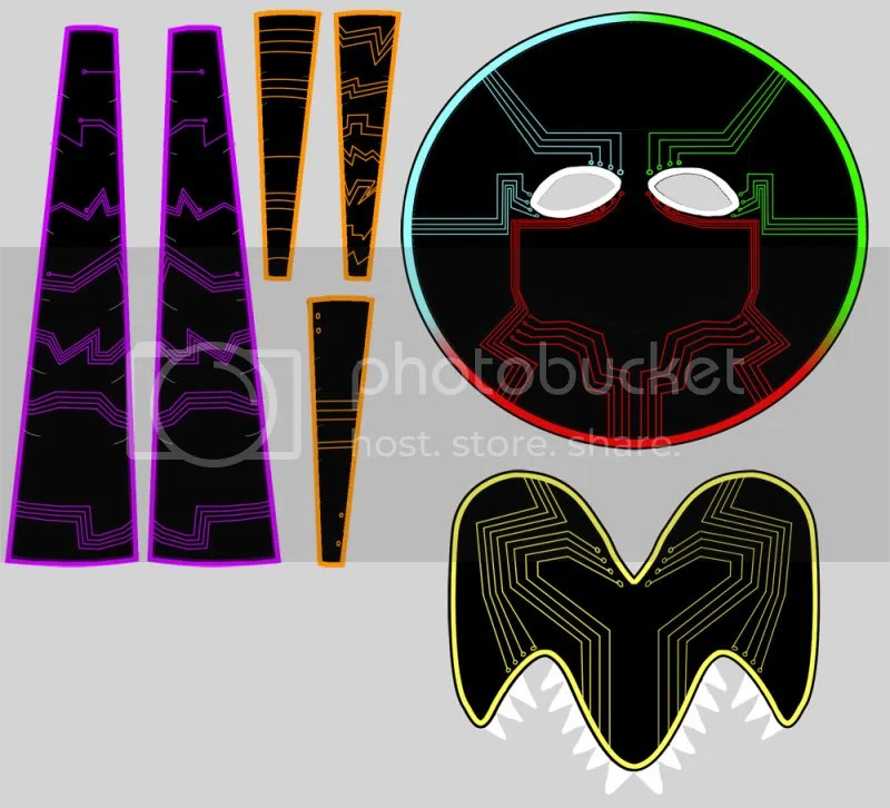 Mask parts