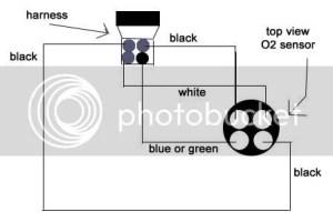 O2 Sensor Wiring Diagram Question  HondaTech  Honda