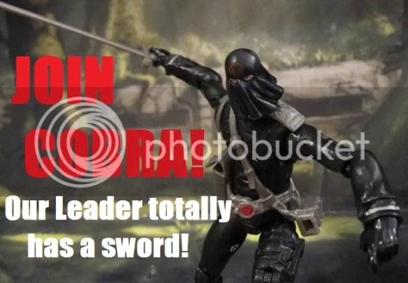 Dollar General exclusive Cobra Commander action figure