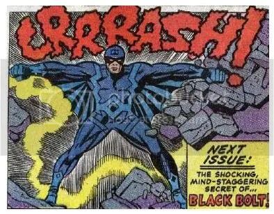 Black Bolt's First Appearance