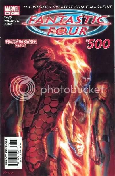 Fantastic Four 500