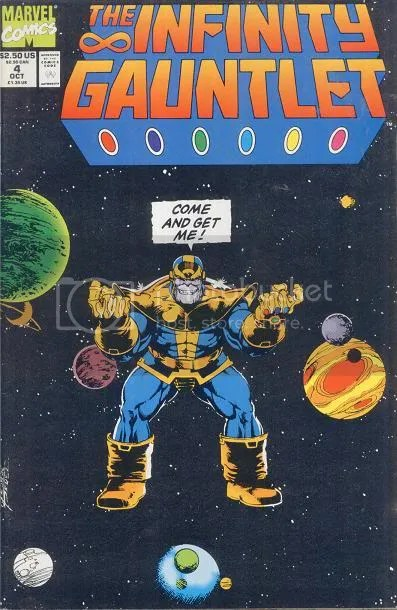 The Infinity Gauntlet Thanos