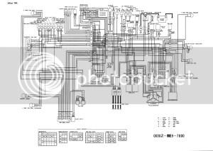 wiring diagram 1984 VT 750c  Honda Shadow Forums : Shadow