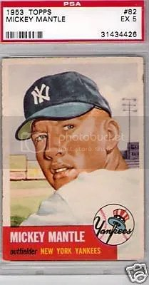 Q A How Do I Spot A Fake 1953 Topps Mickey Mantle Baseball Card