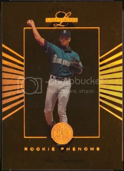 Card of the Day: Alex Rodriguez 1994 Leaf Limited Rookie Phenoms #10