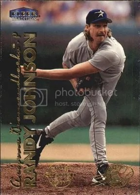 Card of the Day: Randy Johnson 1999 Fleer Tradition Millennium #36