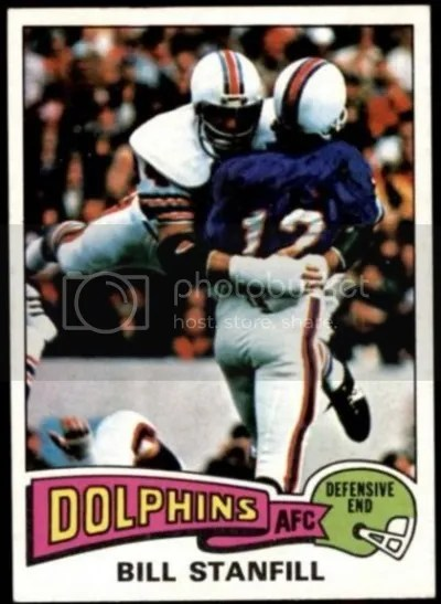 Card of the Day: Bill Stanfill 1975 Topps #81