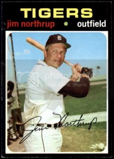 Card of the Day: Jim Northrup 1971 Topps #265