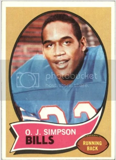 Card of the Day: O.J. Simpson 1970 Topps #90