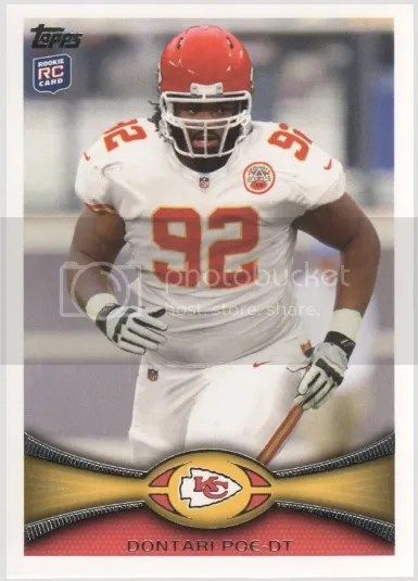 Card of the Day: Dontari Poe 2012 Topps #285