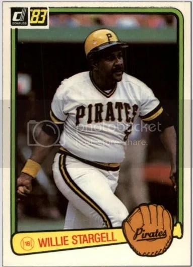 Card of the Day: Willie Stargell 1983 Donruss #610