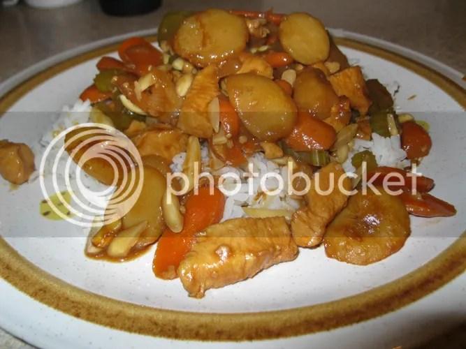 Plated Almond Chicken 1