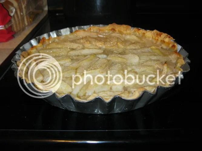Pear Tart Baked 02